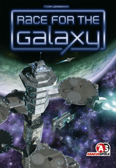 Race for the Galaxy (Basisspiel) - Das spannende Kartenspiel um Weltraumimperien.