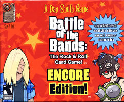 "Battle of the Bands (engl./m.Ü.) - Ein ""Rocken and Roll""-Kartenspiel"