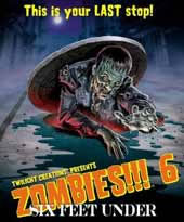 Zombies!!! 6 - Expansion (englisch) - Six feet under